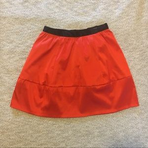 H&M coral skirt